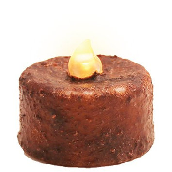 Charlton Home Ratchford Timer Unscented Flameless Candle (Set of 12) Color: Brown