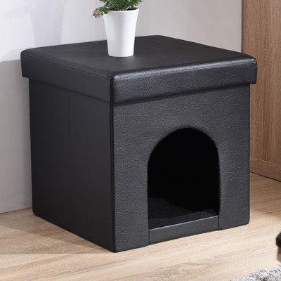 Zipcode Design Brent Pet Ottoman Color: Gray