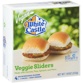 White Castle® Veggie Sliders 2-2 ct Packs