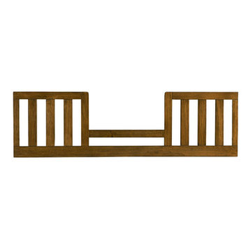 Bassett Furniture Brookdale Toddler Guard Rail - Rustic Brownstone