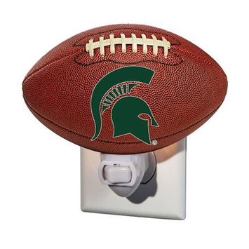 Team Sports America NCAA Glass Night Light NCAA Team: Michigan State University
