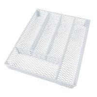 Rebrilliant Flatware Caddy Color: White