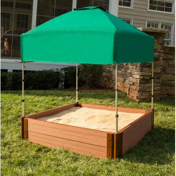 Frame-it-all Telescoping Square Sandbox Canopy/Cover