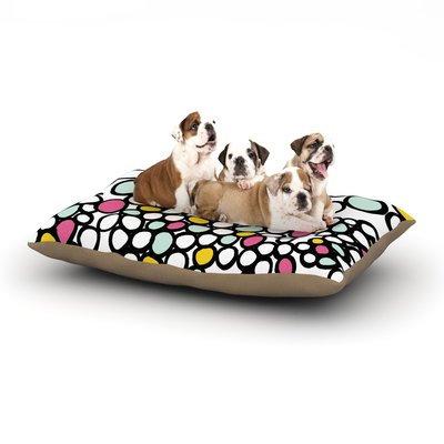 East Urban Home Emine Ortega 'Pebbles' Dog Pillow with Fleece Cozy Top Size: Large (50