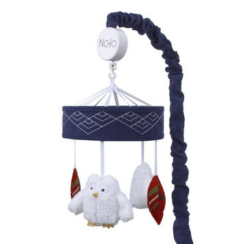 NoJo Teepee Navy Musical Mobile