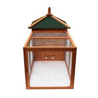 Lovupet Wooden Coop Backyard Nest Box Pet Cage Rabbit Chicken Tractor