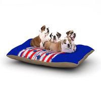 East Urban Home Frederic Levy-Hadida 'Going 4ward' Dog Pillow with Fleece Cozy Top Size: Small (40