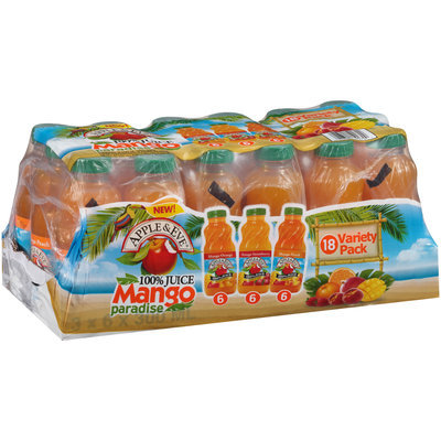 Apple & Eve® Mango Paradise 100% Juice Variety Pack 18-10 fl. oz. Bottles