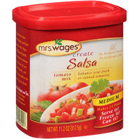 Mrs. Wages® Create Medium Salsa Tomato Mix 11.2 oz. Canister
