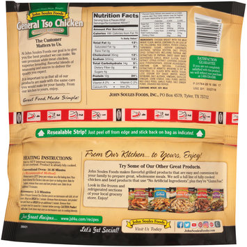John Soules Foods® Lightly Breaded General Tso Chicken 24 oz. Bag
