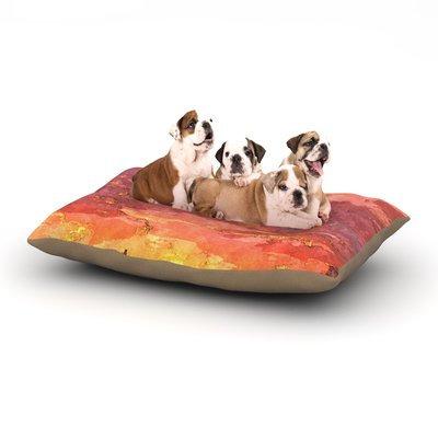 East Urban Home Oriana Cordero 'Horizon' Sky Dog Pillow with Fleece Cozy Top Size: Small (40