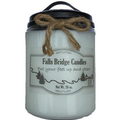 Fallsbridgecandles Mulled Cider Jar Candle Size: 6.5