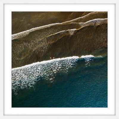 Marmont Hill Inc Marmont Hill - 'Color Changes' by Karolis Janulis Framed Painting Print