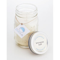 The Pure Candle Lemongrass and Basil Mason Scented Jar Candle