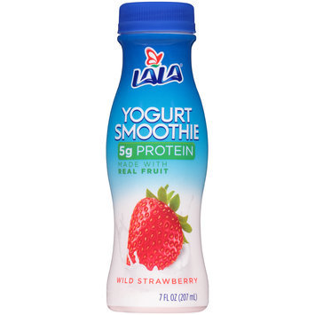 LALA® Wild Strawberry Yogurt Smoothie 7 fl. oz. Plastic Bottle