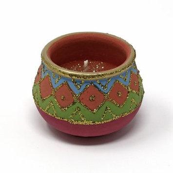 Bloomsbury Market Mosaic Design Handmade Jar Candle