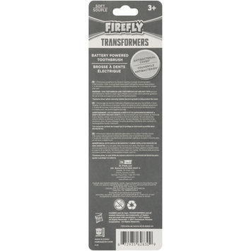 Firefly® Transformers® Soft Powered Toothbrush with Cap