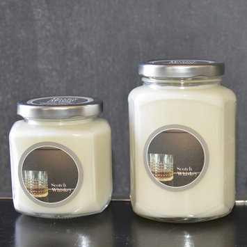 Angelo:home Scotch Whiskey Baxter Manor Candle