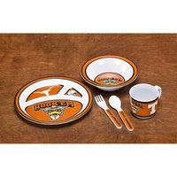 Neoplex NCAA 5 Piece Dish Set NCAA: Texas Longhorns