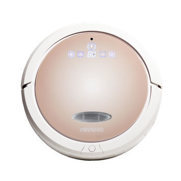 Infinuvo 5-in-1 Robot Vacuum with Water Tank Dry and Wet Floor Cleaner