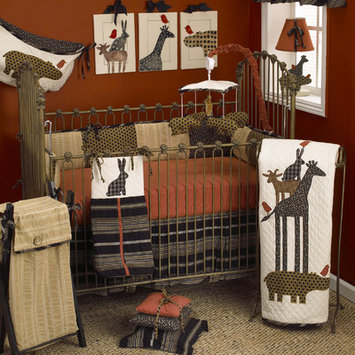 Cotton Tale Animal Stackers 7 Piece Crib Bedding Set