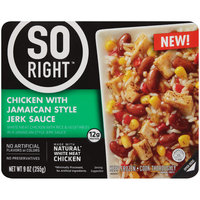 So Right™ Chicken with Jamaican Style Jerk Sauce 9 oz. Box