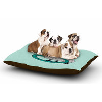 East Urban Home Rosie Brown 'Sis for Sheep' Dog Pillow with Fleece Cozy Top Size: Small (40