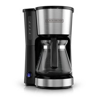 Black & Decker 5-Cup Stainless Steel Coffee Maker Color: Stainless Steel