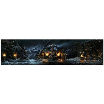 Lord Mischief 'Lin Kuei Temple' Graphic Art