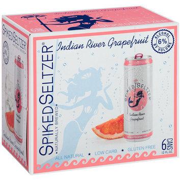 SpikedSeltzer® Indian River Grapefruit Beer 6-12 fl. oz. Cans