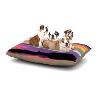 East Urban Home Nina May 'Artika' Dog Pillow with Fleece Cozy Top Size: Small (40