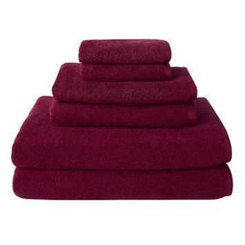 Wayfair Basics 6-Piece Towel Set Color: Pink