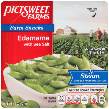 Pictsweet Farms® Farm Snacks Edamame with Sea Salt 4.5 oz. Carton