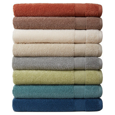 Mercury Row Deberry Kushlon Texture Bath Towel Color: Cement