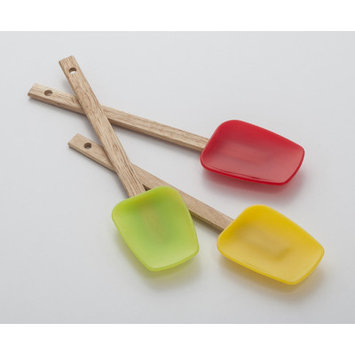 Cooks On Fire Silicone Mixing Spoonulas Set