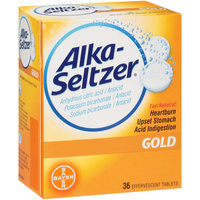 Alka-Seltzer® Gold Antacid Effervescent Tablets 36 ct Box