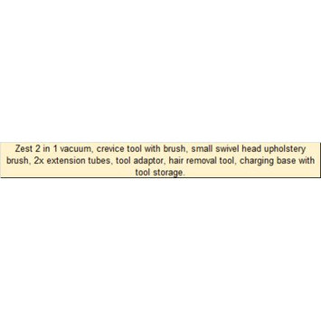 Ewbank Zest 2 in 1 Cordless Bagless Stick Vacuum