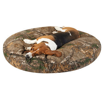 Realtree Xtra Round Dog Bed Size: 50
