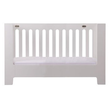 Bloom Alma Papa Toddler Bed Rail Finish: Coconut White