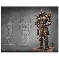 Lord Mischief 'Aztec Shao Kahn' Graphic Art