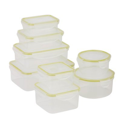 Honey Can Do Honey-Can-Do Snap Food Containers 16-piece Set