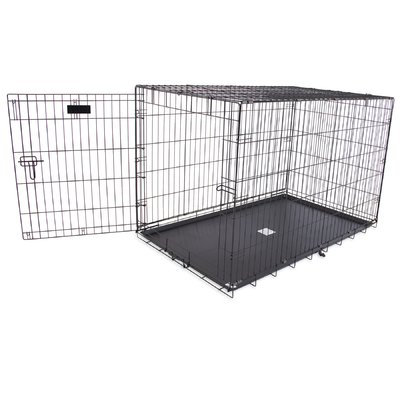 Aspen Pet Single-Door Home Training Pet Crate Size: 32