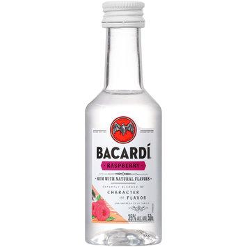 Bacardi® Raspberry Rum 50mL Bottle