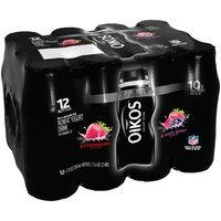 Dannon® Oikos® Strawberry Flavor/Mixed Berry Nonfat Yogurt Drink 12-7 fl. oz. Bottle