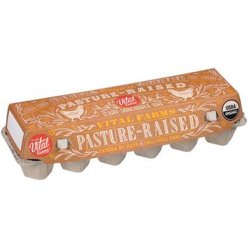 Vital Farms® Organic Pasture-Raised Large Grade A Eggs 12 ct Carton