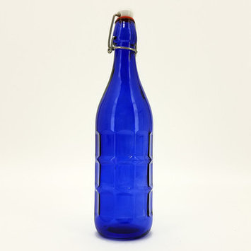 Vandue Corporation Culaccino Swing Top Round 34 oz. Glass Bottle Color: Blue