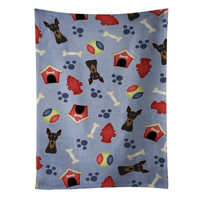 East Urban Home Dog House Min Pin Dishcloth