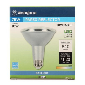 Westinghouse 10W E26 Medium Base LED Light Bulb Bulb Temperature: 5000K