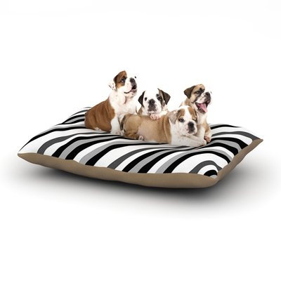 East Urban Home Trebam 'Kos' Diagonal Dog Pillow with Fleece Cozy Top Size: Small (40