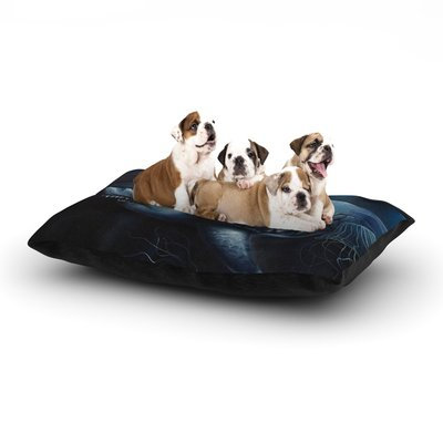 East Urban Home Graham Curran 'Invictus' Dog Pillow with Fleece Cozy Top Size: Small (40